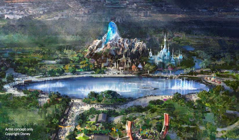Lago del Walt Disney Studios Park