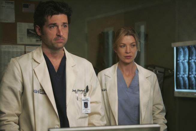 Grey's Anatomy Meredith Grey e Derek Shepherd nella prima stagione