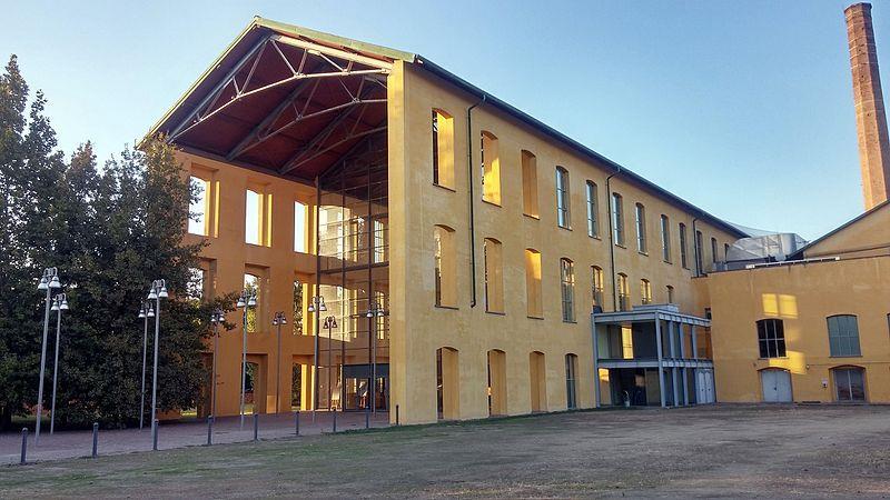 L'esterno dell'Auditorium Paganini