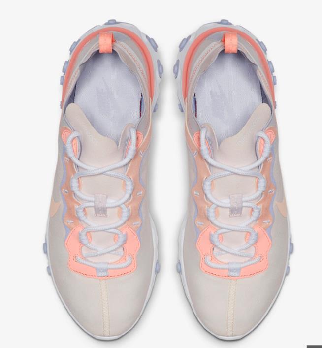 Un paio di scarpe React 55 Living Coral