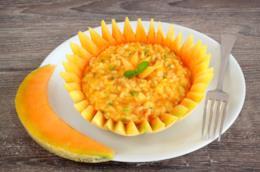Risotto al melone