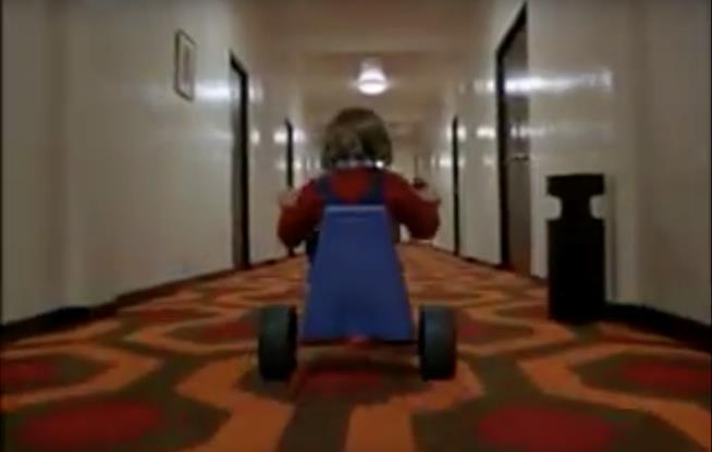 Scena tratta dal film Shining