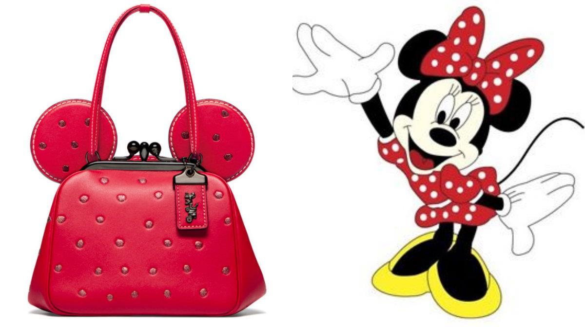 La collezione Coach dedicata a Minnie.