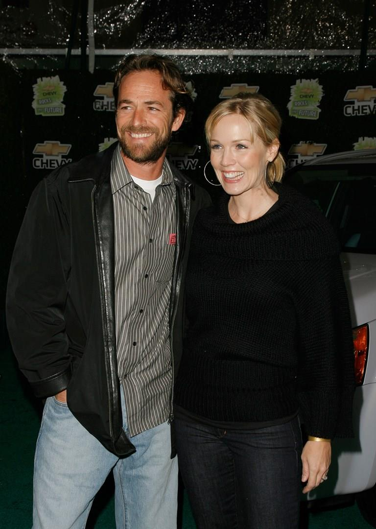 Luke Perry e Jennie Garth