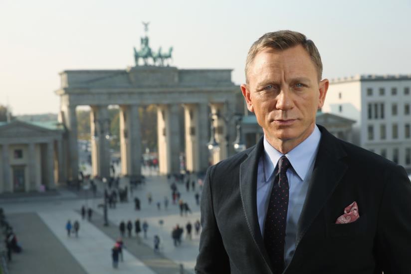 Daniel Craig in primo piano a Berlino