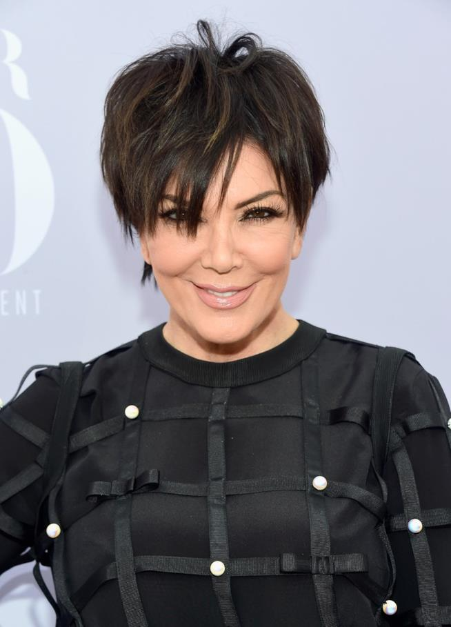 Kris Jenner in primo piano
