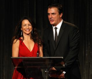Chris Noth e Kristin Davis