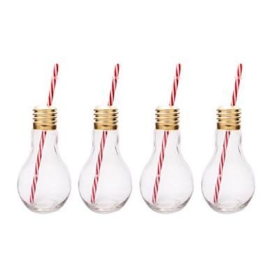 Bicchieri a forma di lampadina