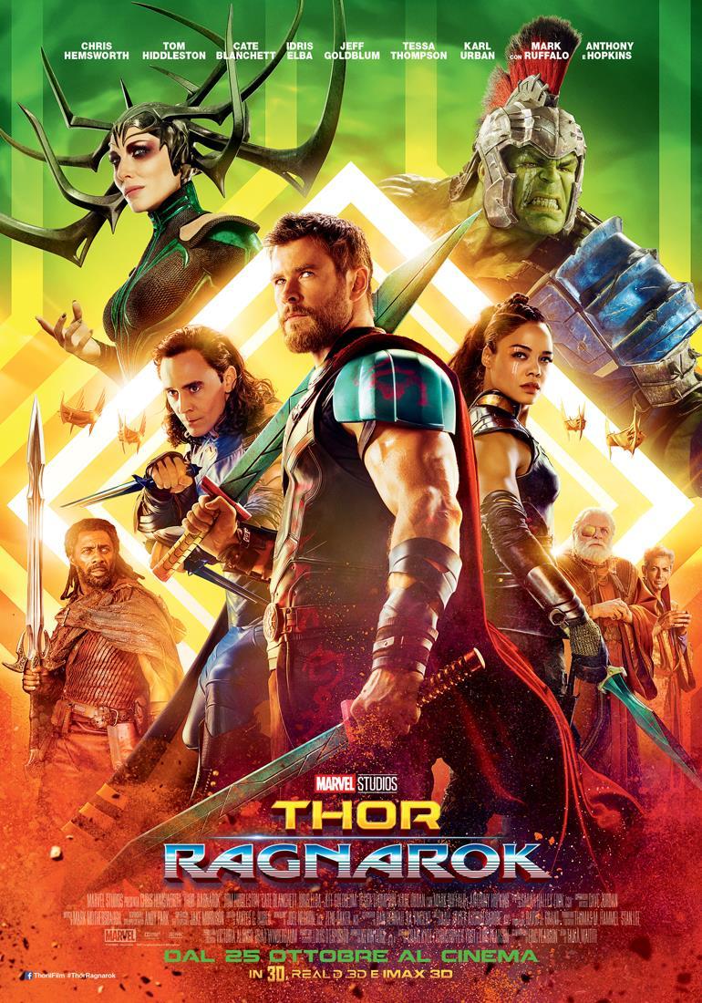 Il nuovo poster di Thor: Ragnarok