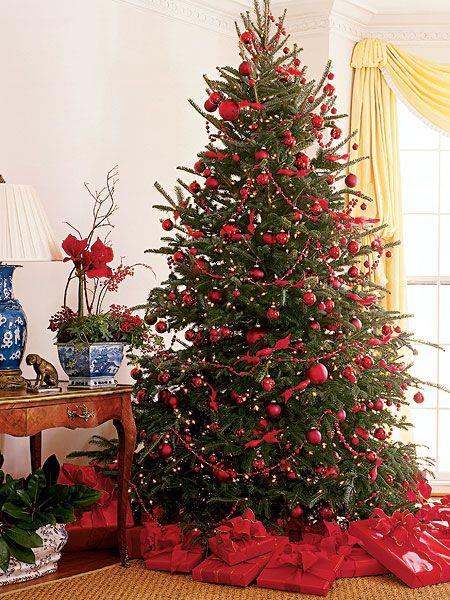 Decorazioni Natalizie Dorate.100 Idee E Immagini Per Realizzare L Albero Di Natale