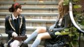 Blair Waldorf e Serena van der Woodsen in Gossip Girl