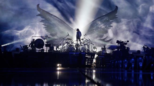 We Are X, Yoshiki sul palco del Madison Square Garden