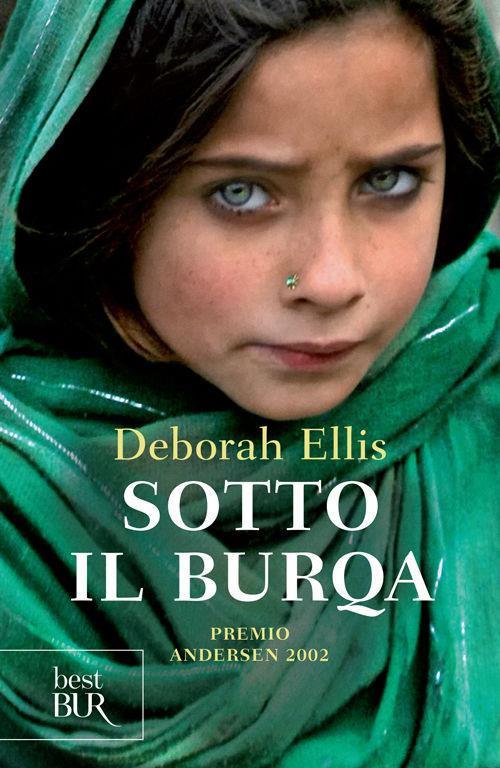 La copertina del libro Sotto il Burqa