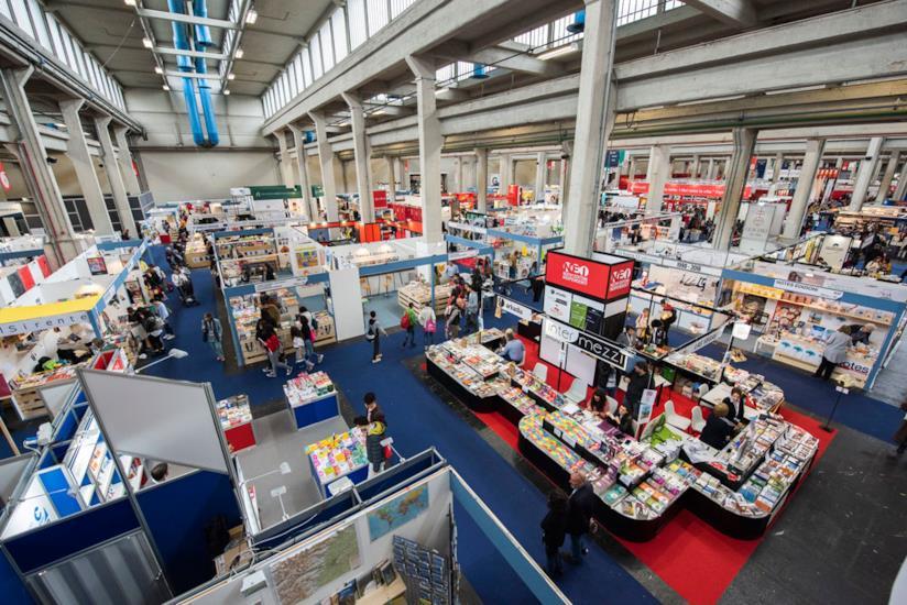 Stand del Salone Internazionale del Libro di Torino