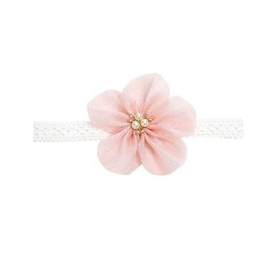 Fascia con fiore per capelli