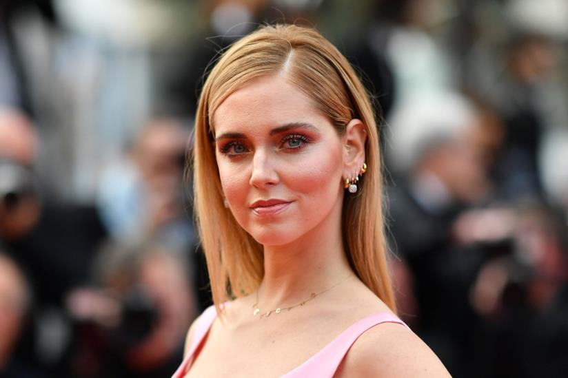 L'influencer Chiara Ferragni sul red carpet