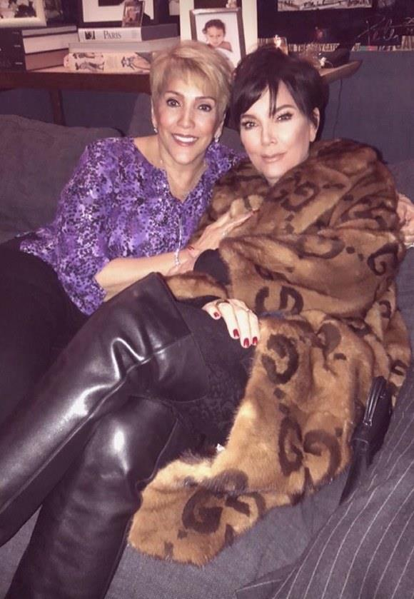 La mamma di Kim Kardashian e quella di Jennifer Lopez