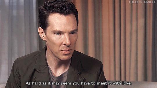 benedict Cumberbatch intervistato da Sophia Grace Brownlee