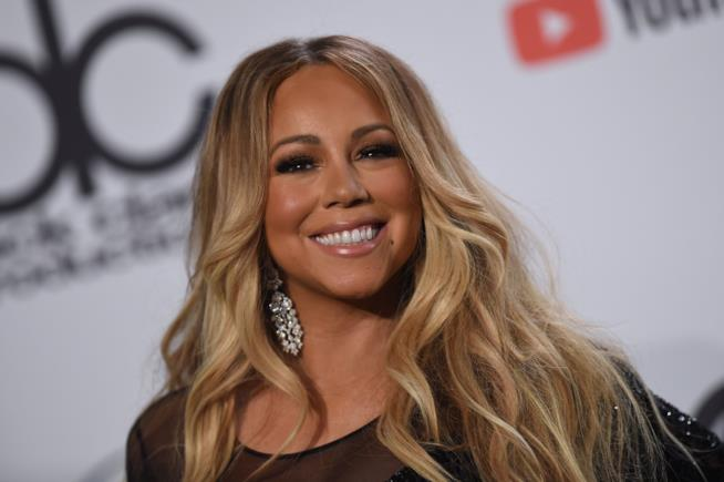 La popstar Mariah Carey