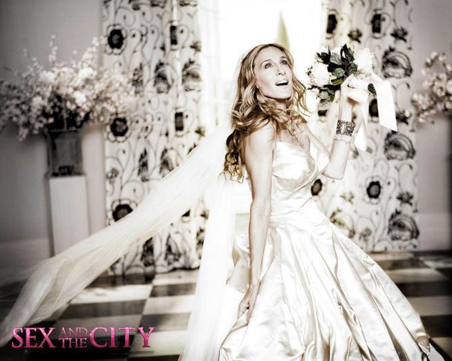 abito da sposa Carrie