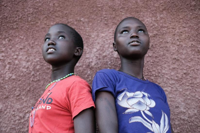 Due ragazze africane