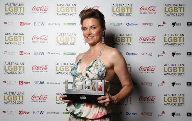 L'attrice Lucy Lawless premiata all'Australian LGBTI Awards 2017