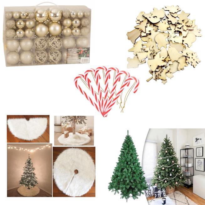 Le decorazioni per l'albero di Natale