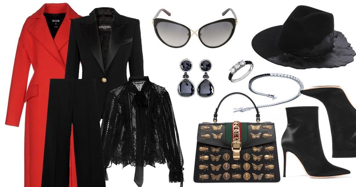 Consigli outfit total black autunno inverno