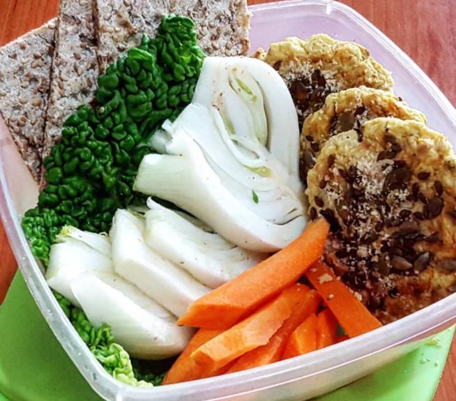 Polpette di verdure e semi