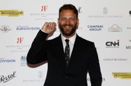 L'attore Alessandro Borghi vincitore del Globo d'Oro 2019 come Miglior attore