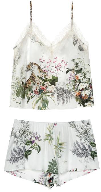 Completo nightwear canotta e pantalone abbinato Intimissimi Primavera 2019