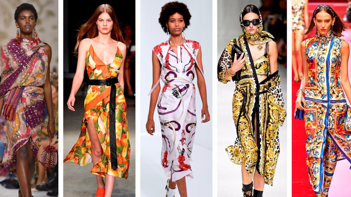 Foulard dresses collezioni primavera estate 2018