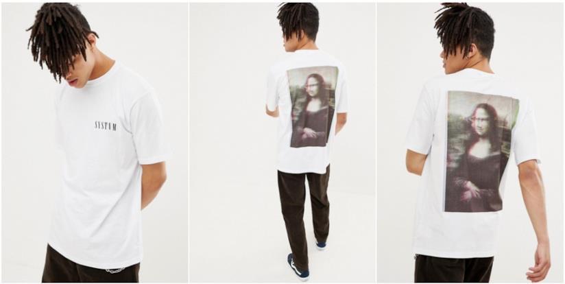 Regali per chi ama l'arte: t-shirt Monnalisa