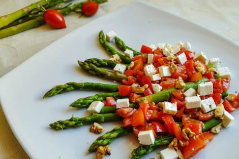 Verdura e formaggio