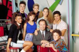 Il cast di Bayside School