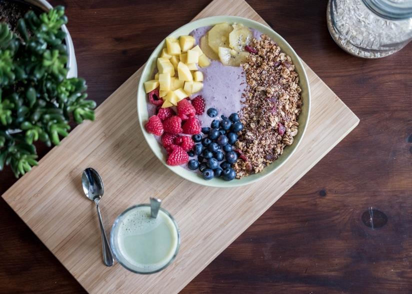 Ricetta smoothie bowl