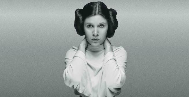 Carrie Fisher è la Principessa Leia di Star Wars