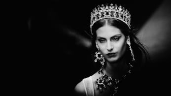 Un momento della sfilata Dolce & Gabbana