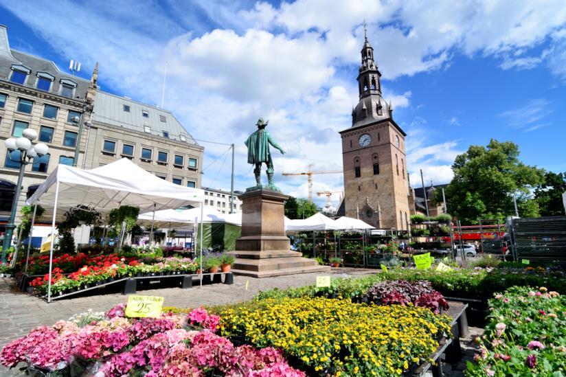 Scorcio di Oslo