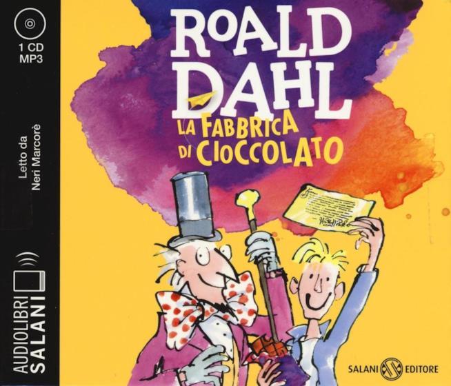 Dal libro di Roald Dahl è tratto il film Willy Wonka e la fabbrica del cioccolato