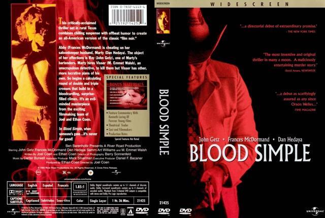 La cover del DVD del film diretto da Joel Coen
