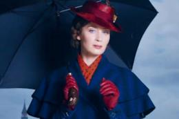 Emily Blunt è Mary Poppins