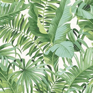 Carta da parati tropicale