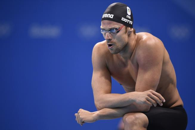 Luca Dotto si prepara al tuffo a Rio 2016