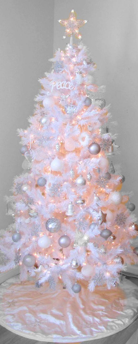 Albero di Natale bianco artificiale