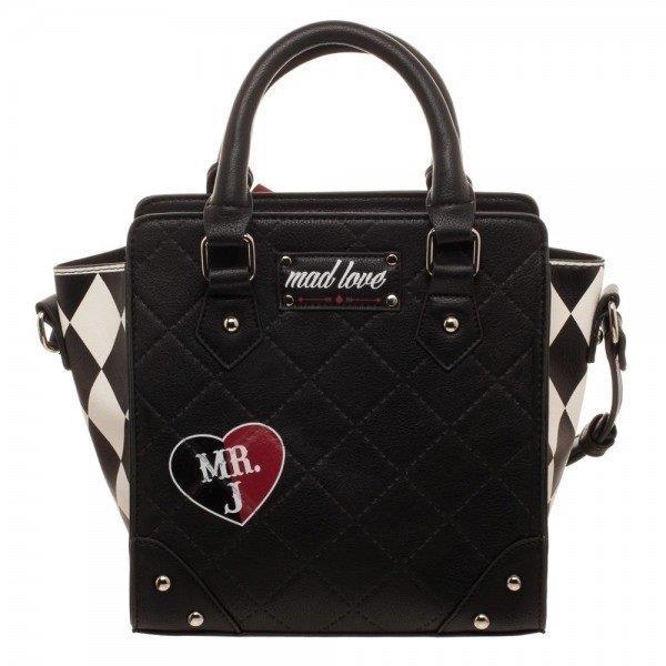 La borsa di Harley Quinn vista frontalmente