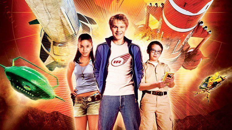 I tre protagonisti nel film Thunderbirds