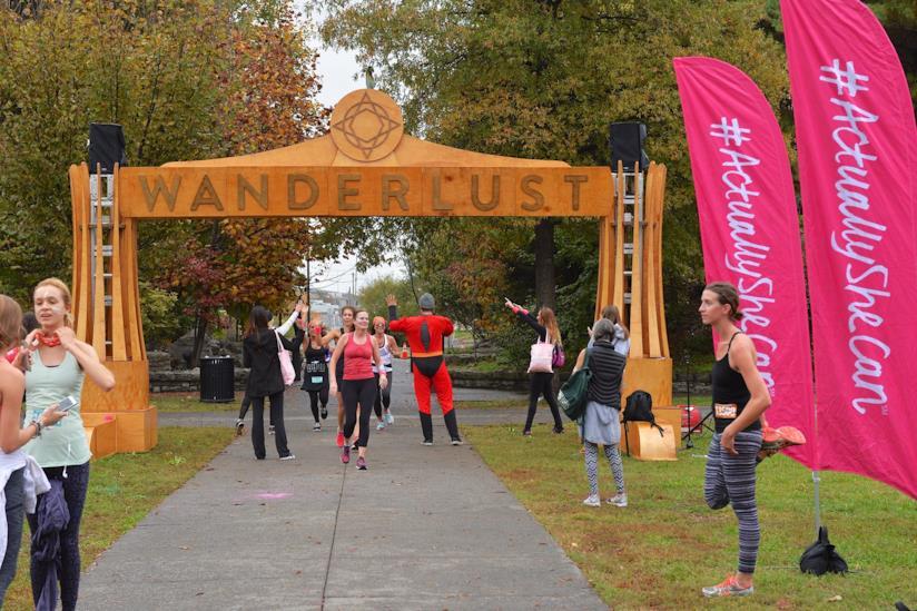 Mindful triathlon Wanderlust
