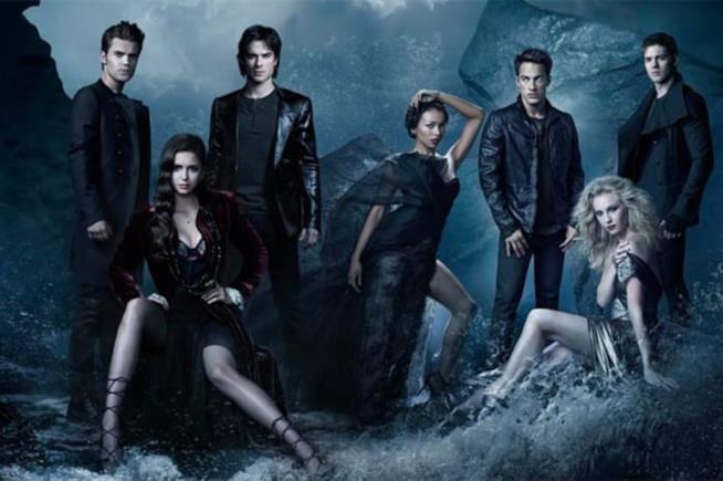 Il cast di The Vampire Diaries