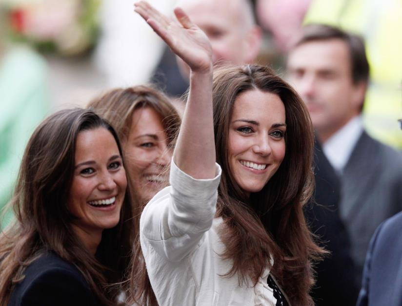 Pippa Middleton e Kate Middleton